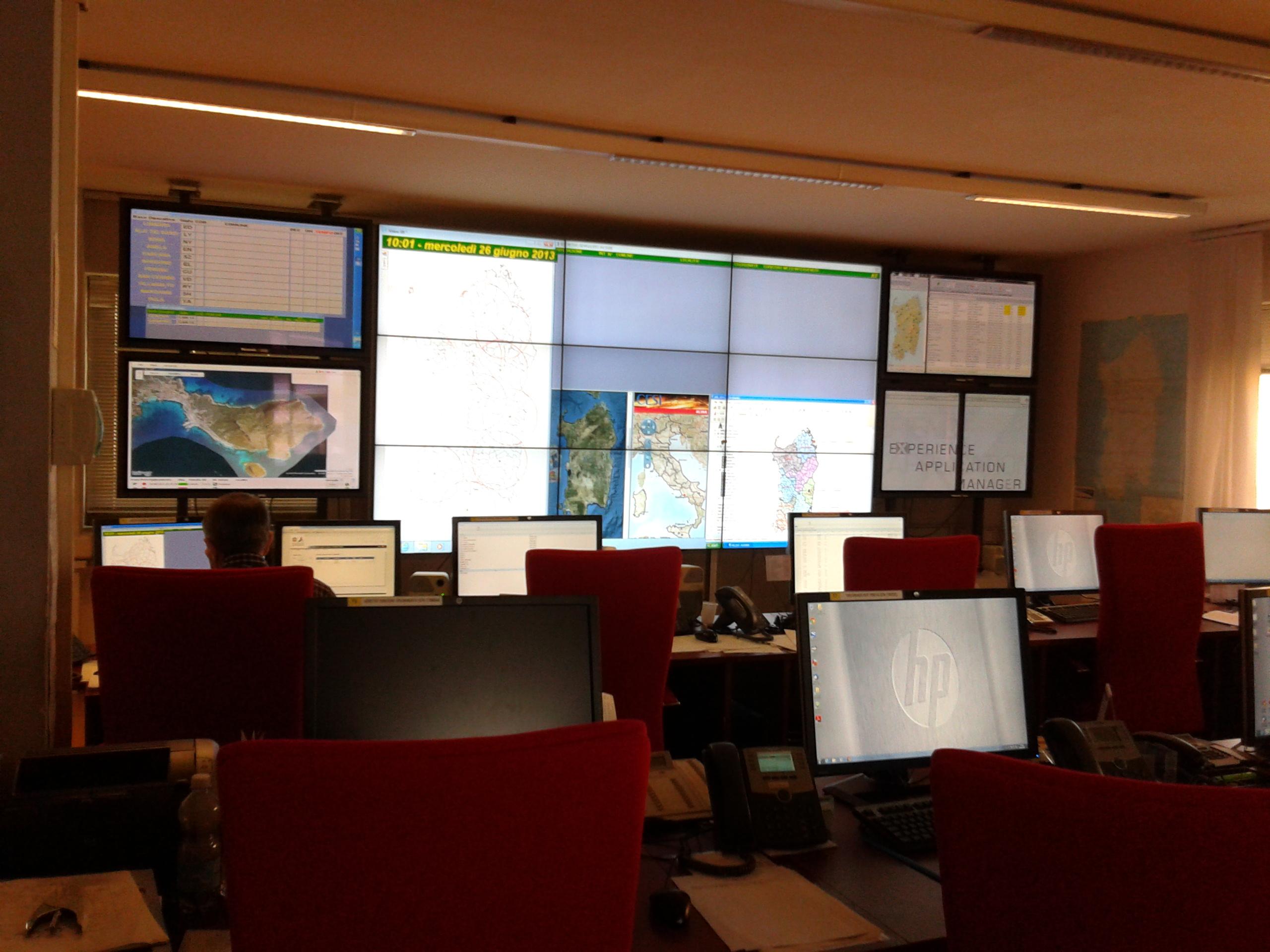Sistema di allerta della protezione civile della Regione Sardegna realizzato da Arkys