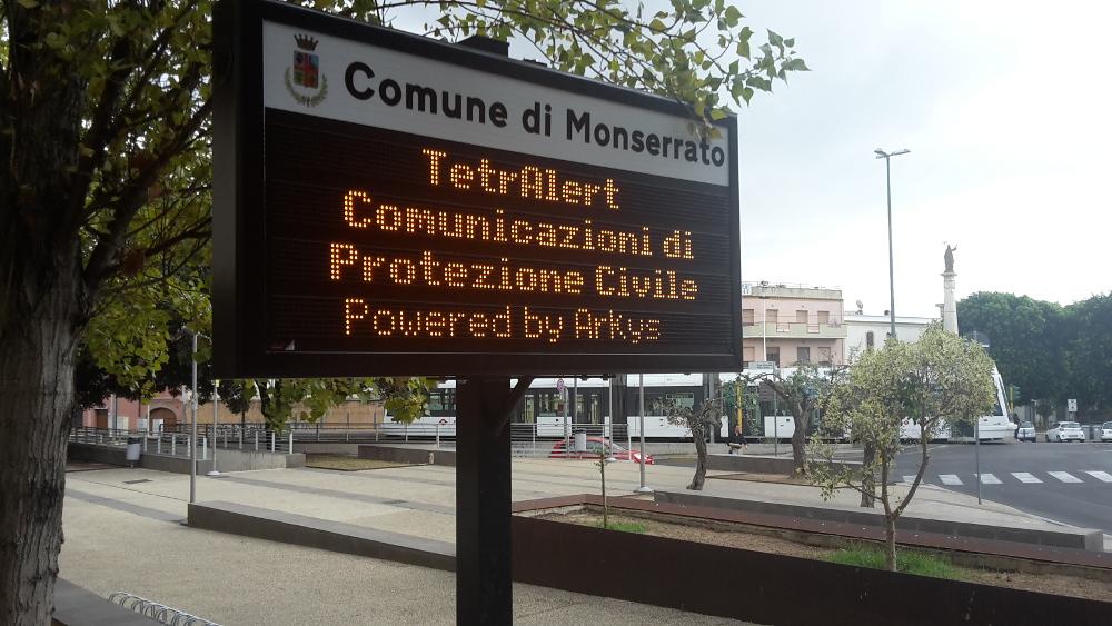 Pannelli semaforici a messaggio variabile